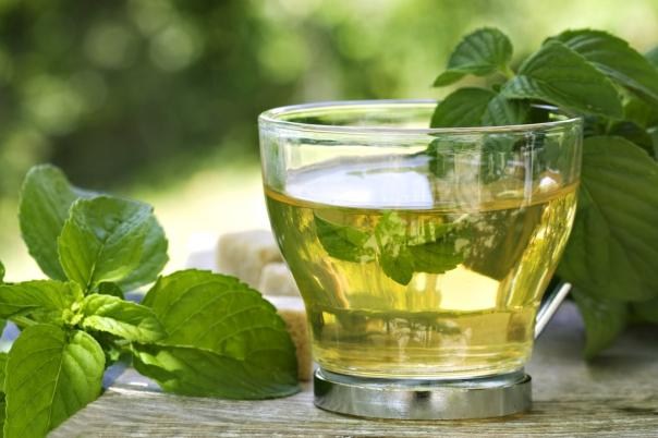 té verde ella lo lleva