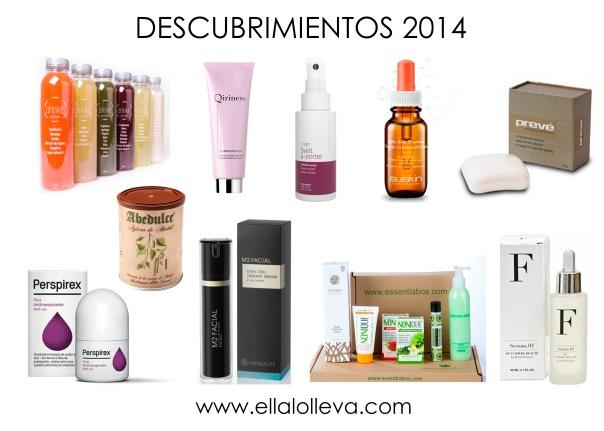 descubrimientos beauty 2014