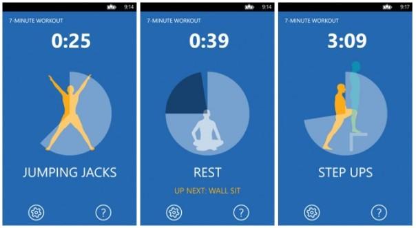 7 minute app
