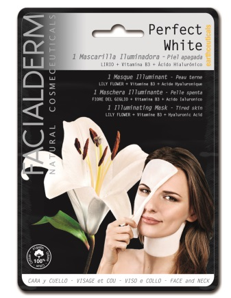 FACIALDERM web - Tissue Mask cotton - Perfect White