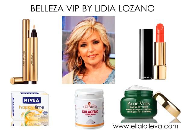 SECRETOS DE BELLEZA LIDIA LOZANO