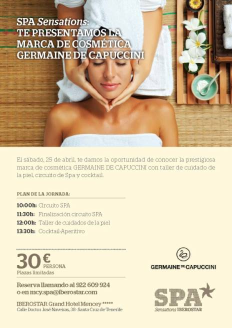Germaine de Capuccini en Spa Mencey