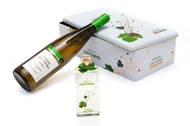 Perfume de Gewürztraminer con caja