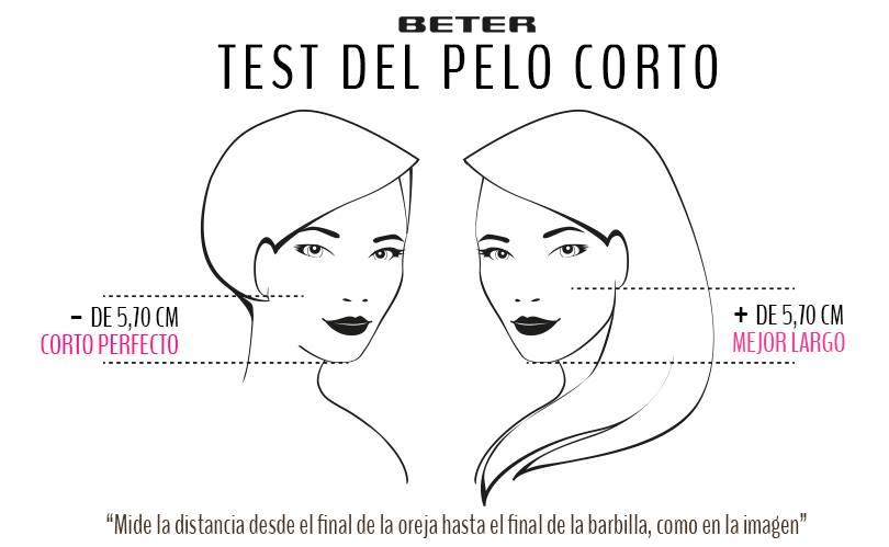 test del pelo corto beter